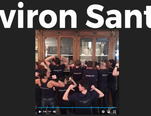 Vidéo de la team Aviron Santé pour la journée mondiale contre le cancer!