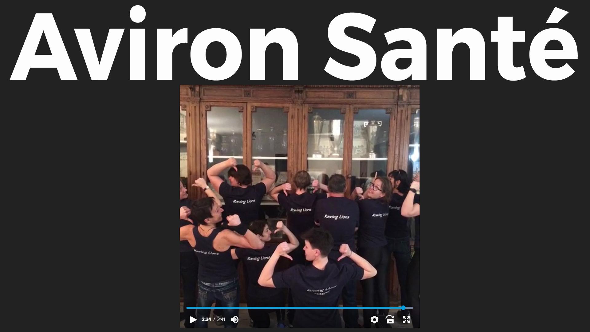 Cercle aviron de Lyon Aviron Santé