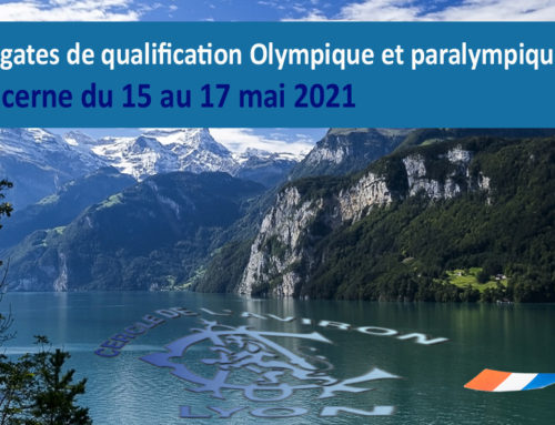 Confirmation de la Régate de qualification Olympique de Lucerne !