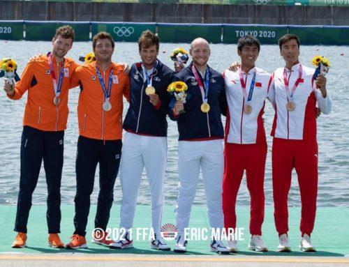 Hugo Boucheron & Matthieu Androdias champions olympiques!